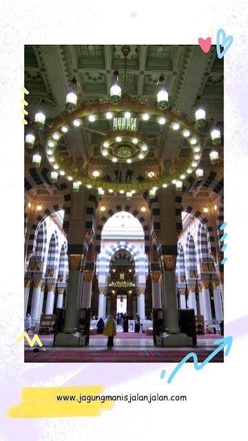 Masjid Nabawi Madinah, Masjid yang Paling Syahdu