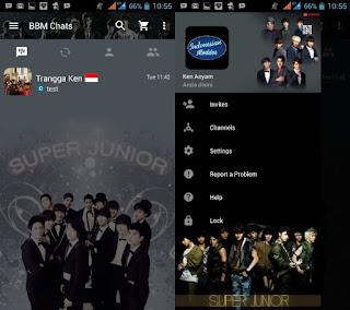 BBM Mod Super Junior
