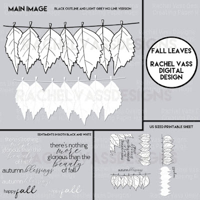 Rachel Vass Designs - Fall Leaves