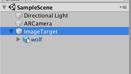 切り絵魔法陣でAR幻獣を召喚する方法(ImageTargetにモデルを組み込む)
