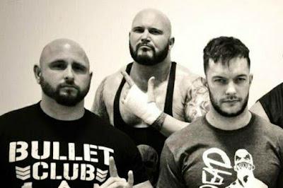 Bullet Club Balor Club Gallows Anderson Finn Balor WWE