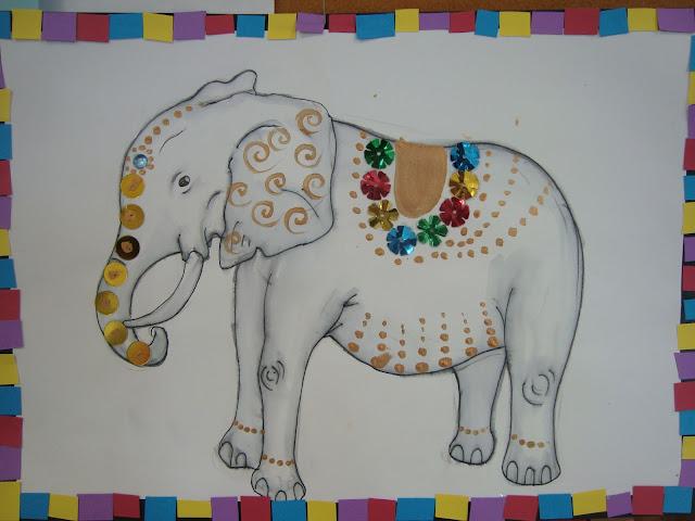 Day 5 Dasara Elephant Crafts Artsy Craftsy Mom
