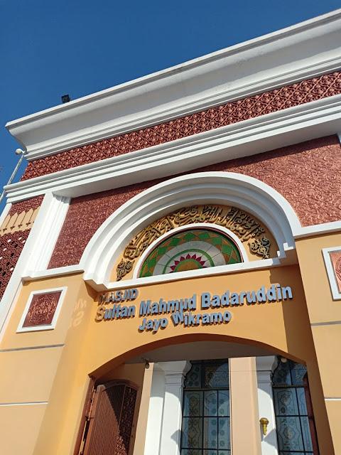 Masjid Sultan Mahmud Badaruddin Jayo Wikramo