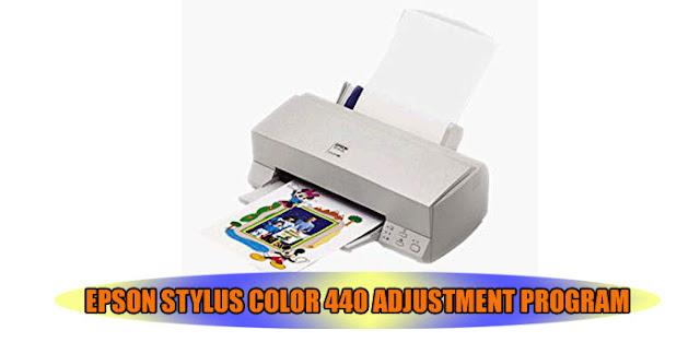 Epson Stylus Color 440 Printer Adjustment Program