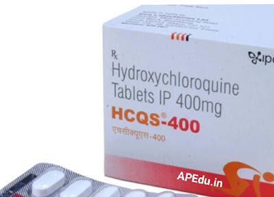 Central Government issues specific guidelines on the use of hydroxy chloroquine ...