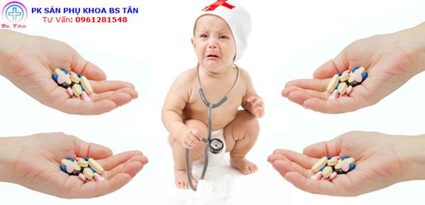 kháng sinh và trẻ