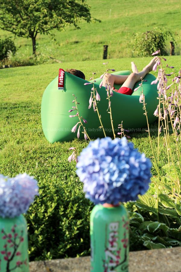 Der Lamzac von Fatboy mein Sommerhighlight 2016, Luftsofa zum Mitnehmen,