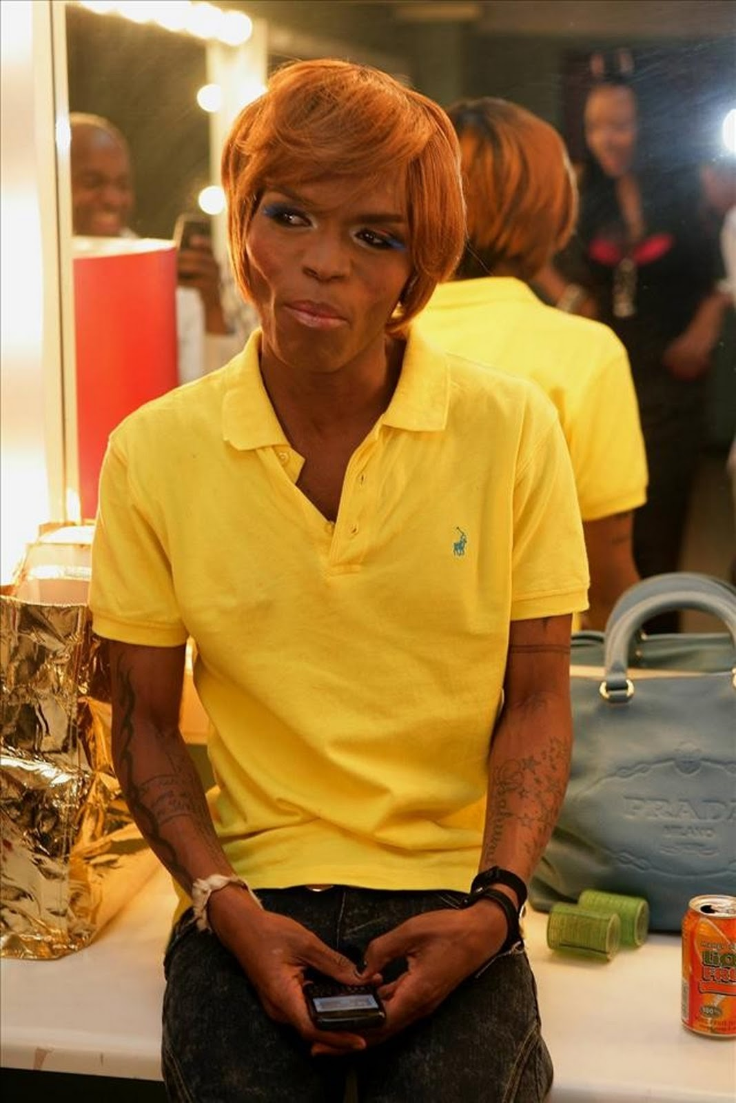 Somizi S Frail Look Makes The Front Page Phil Mphela Blog