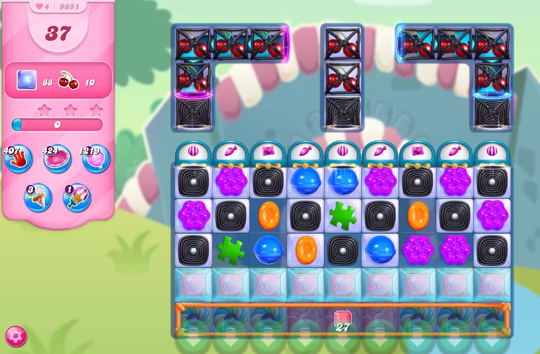 Candy Crush Saga level 9651