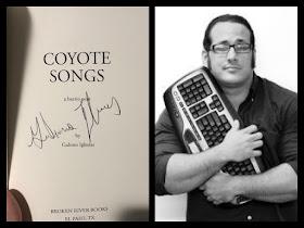 Coyote Songs AND Zero Saints, signed by Gabino Iglesias