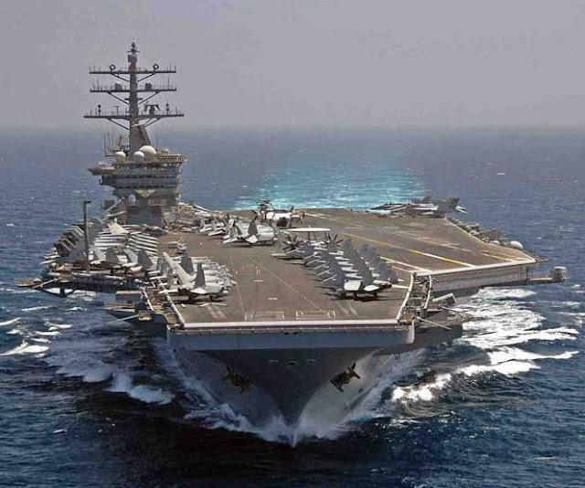 Saat ini Angkatan Laut Amerika Serikat merupakan angkatan bahari terkuat di dunia 10 KAPAL INDUK TERBAIK AS SAAT INI