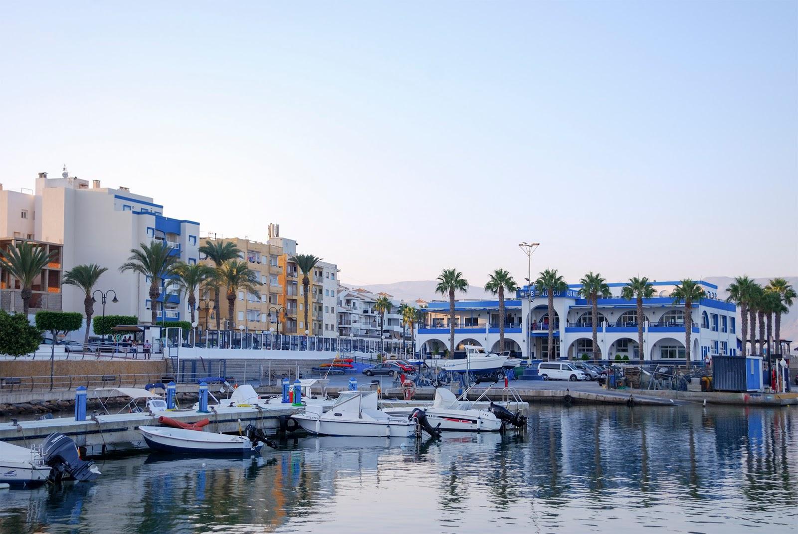 almeria beach spain roquetas mar coast port marina