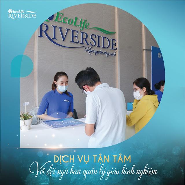 Dịch vụ luôn tận tâm tại Ecolife Riverside Quy Nhơn