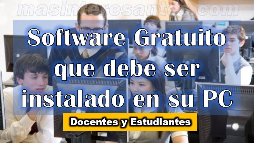 enlaces de software gratis