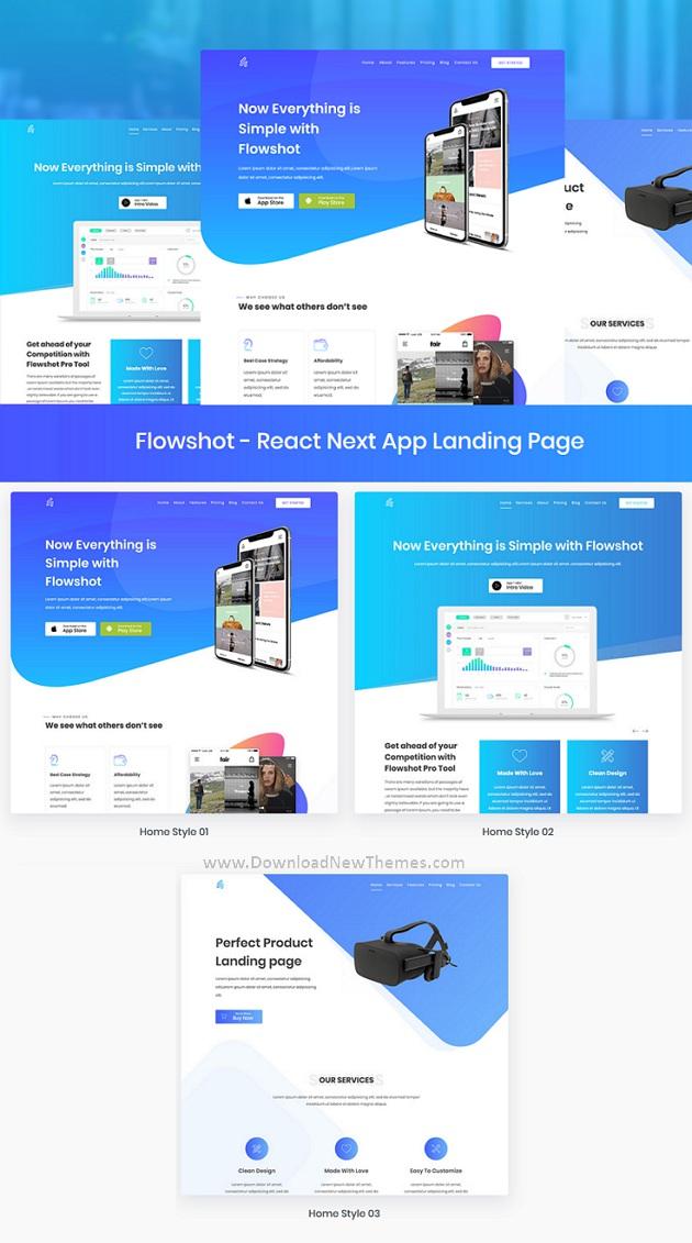 App & Saas Landing Page