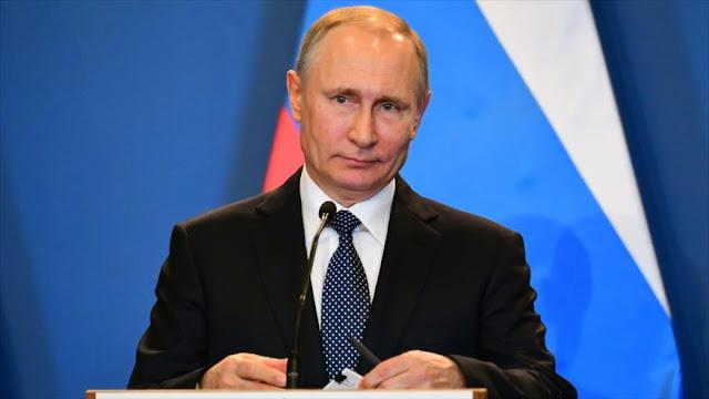 Putin: Kiev extorsiona a EEUU y UE, haciéndose pasar por víctima