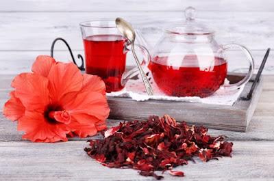 trà hoa dâm bụt