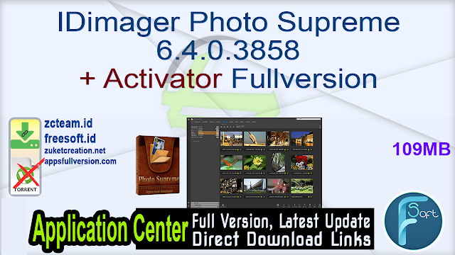 IDimager Photo Supreme 6.4.0.3858 + Activator Fullversion