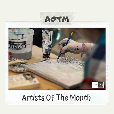 aotm artist of the month ewafebriart