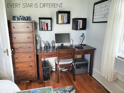 A Minimalist Montessori Home Office
