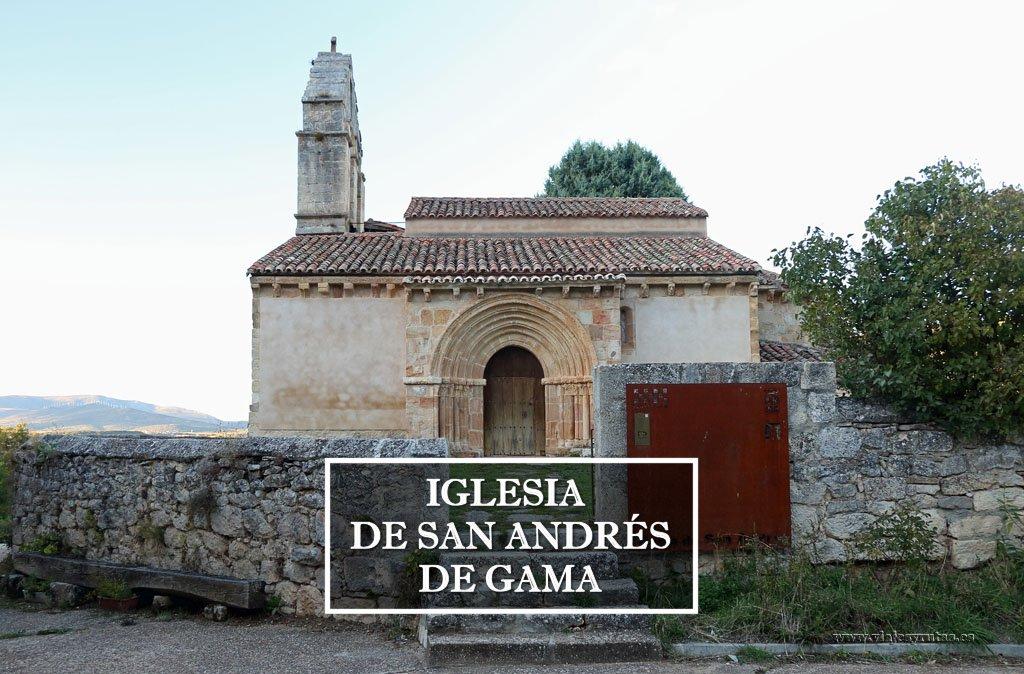 Iglesia de San Andrés de Gama, románico palentino