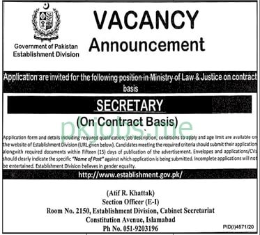 Latest Ministry of Law & Justice Management Posts 2021
