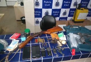 Polícia prende dupla acusada de vários assaltos em Aracatu