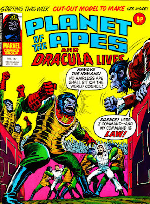 Marvel UK, Planet of the Apes #117