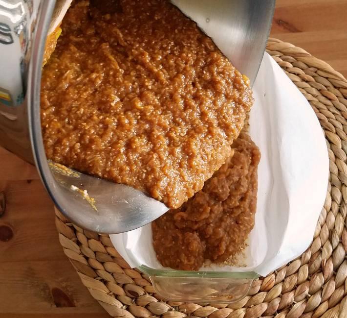 Mezcla de la torta bejarana, es una mezcla pesada y rústica, muy aromática