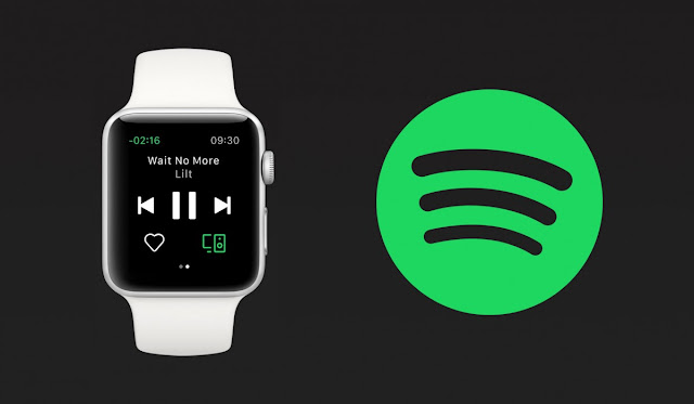 Apple iWatch with Spotify streaming