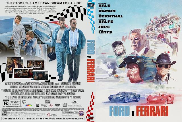 Ford v Ferrari DVD Cover