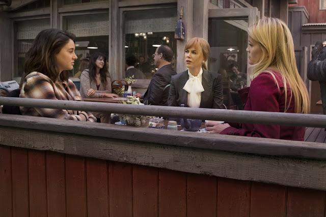 Recenzja serialu Wielkie Kłamstewka. HBO. Reese Witherspoon. Nicole Kidman. Shailene Woodley. Laura Dern. Zoë Kravitz. Alexander Skarsgård