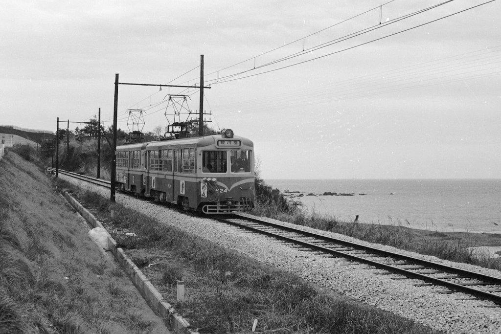 地方私鉄 1960年代の回想: 海辺を走る土佐電気鉄道 安芸線1