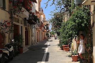 stare miasto, uliczki Retymno