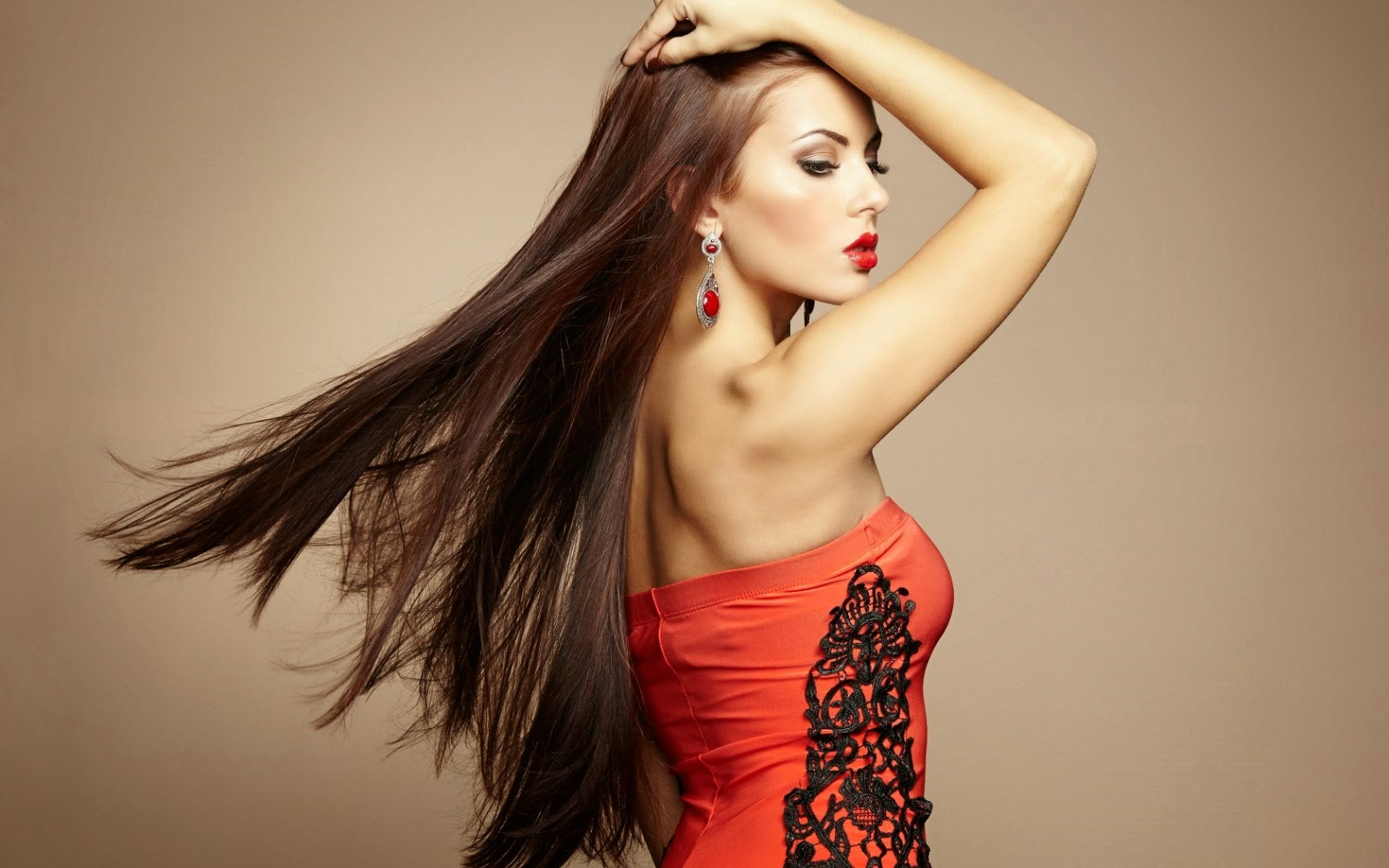 Model Girl Hairstyle   Hot HD Wallpapers 2014-2015
