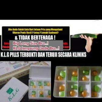 KLG Pills Untuk Penis Yang Lebih Panjang