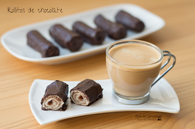 Rollitos de Chocolate - Tigretones