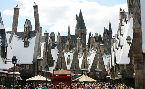 Hogsmeade Wizarding World Harry Potter Orlando