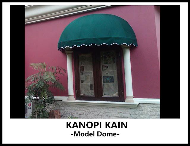 kanopi kain model dome