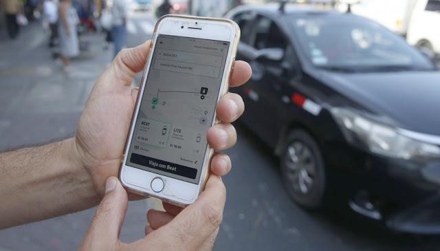 Taxis por aplicativo