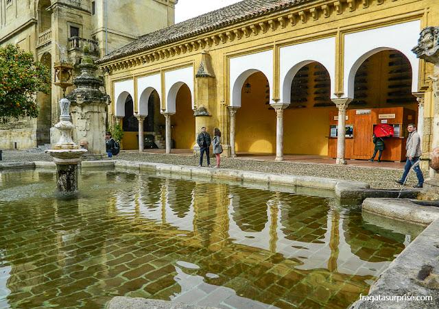 Fonte no Patio de los Narajos, Mesquita de Córdoba