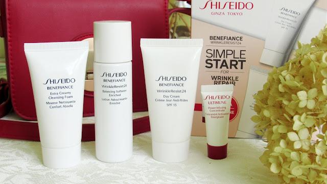 Косметический набор Benefiance Wrinkle Resist 24 от Shiseido