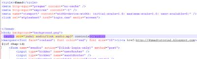 Cara Membuat Audio di HTML