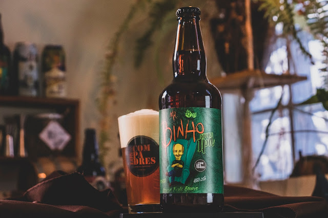 Cerveja Mr. Binho Double IPA