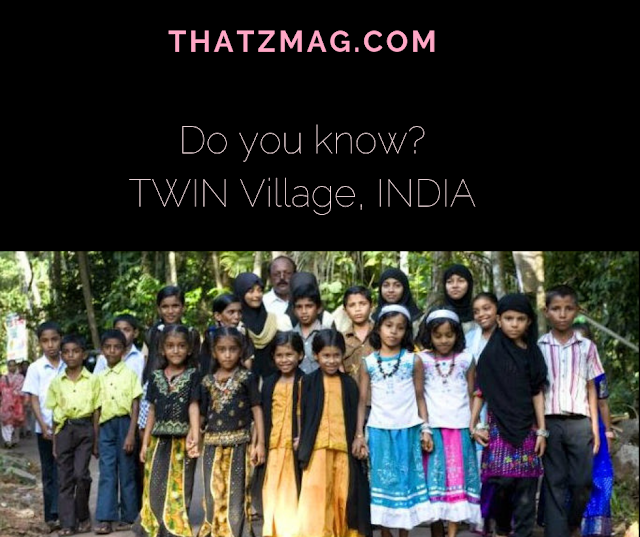 [Do you know]Twin Village - A village full of twins in India
