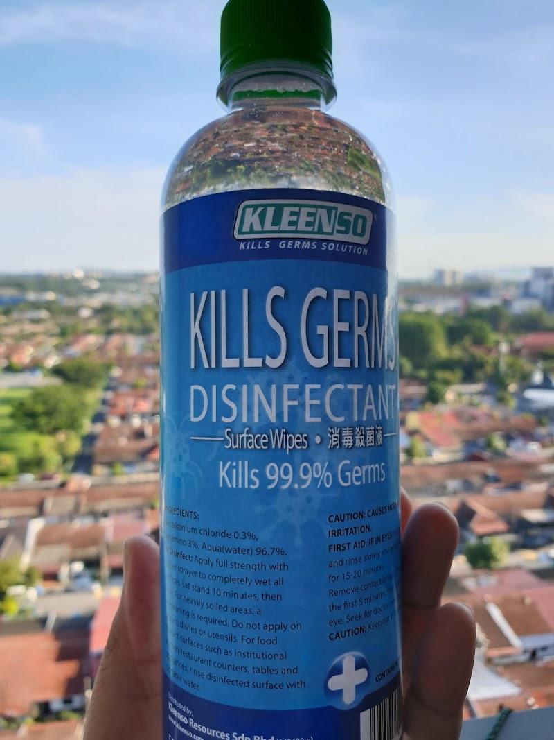 Bersihkan Rumah Daripada Kuman Dengan Kleenso Kills Germs Disinfectant