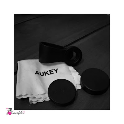 review aukey 3 in 1 smartphone's lens