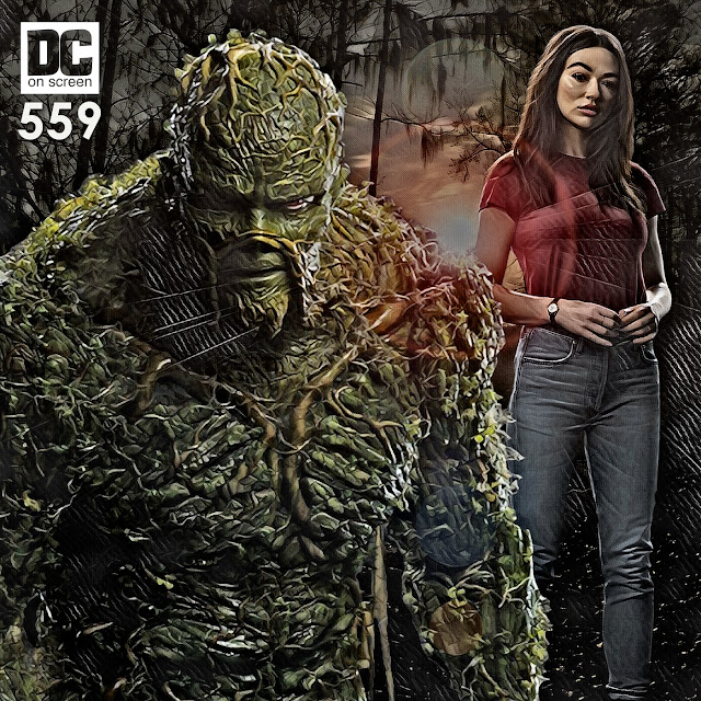 DC Universe's Swamp Thing and Abby Arcane
