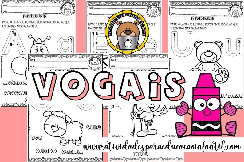 Vogais – educação infantil creche
