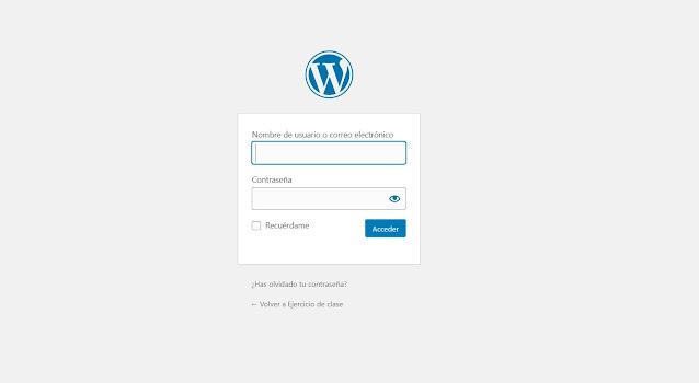 Lo primero es ingresar al panel de control de tu sitio web en Wordpress, que normalmente debería ser algo parecido a www.misitio.com/wp-admin